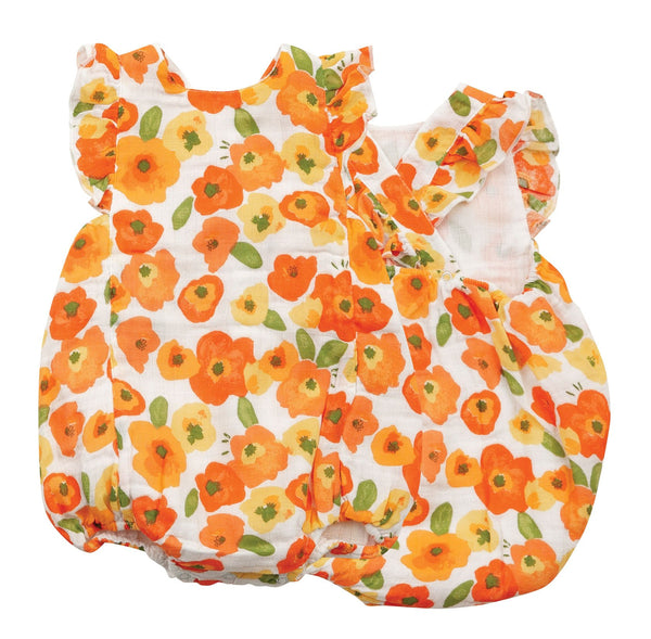 "Muslin Sunsuit, ""Poppies"""
