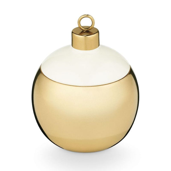 Juniper Moss Metal Ornament Candle