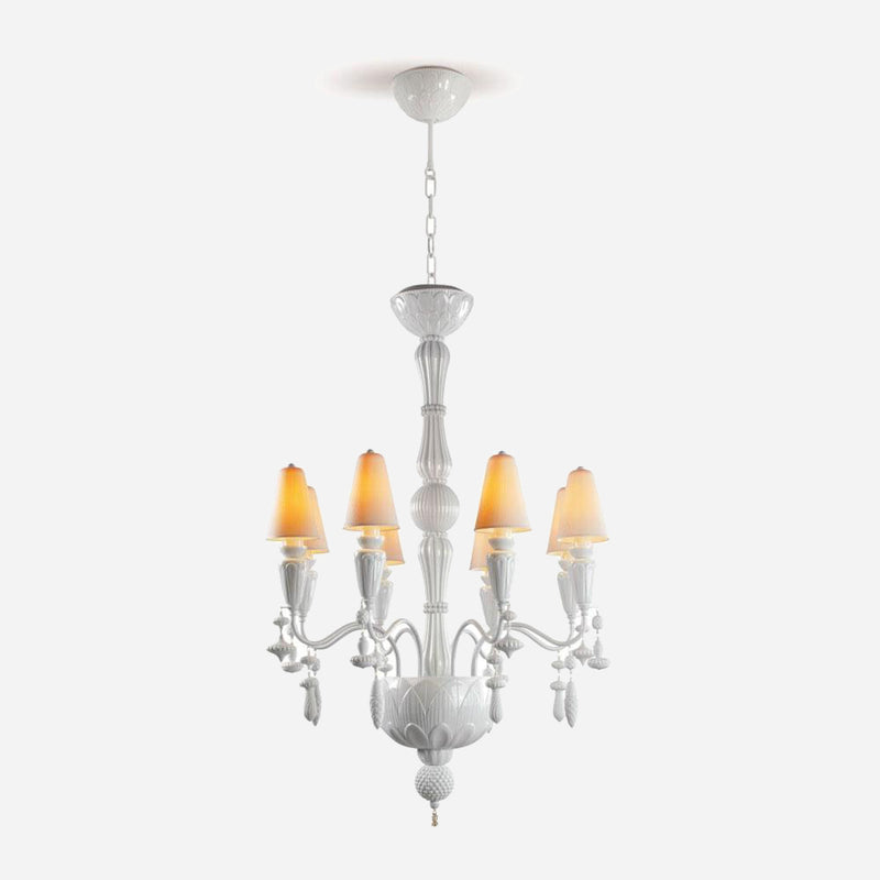 Ivy and Seed 8 Lights Chandelier - White      2749.00  iLite Lighting