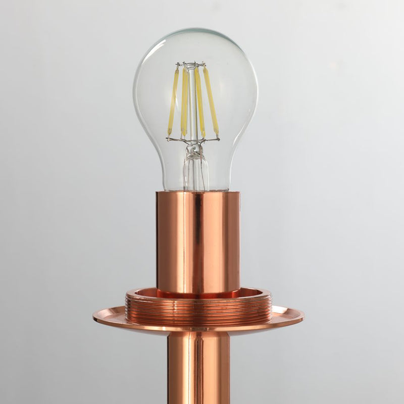 Lava Floor Lamp - Copper