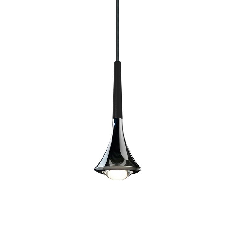 Rain LED Pendant Light - Black | iLite Lighting