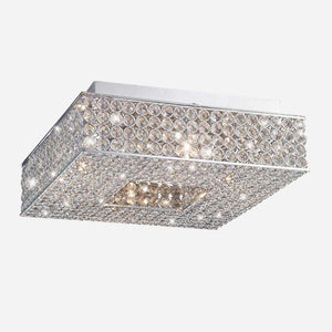 Segreto 4 Light Crystal Ceiling Light      219.90  Diyas Lighting