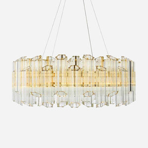 Allora Crystal Suspension Light | iLite Lighting