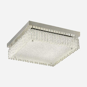 Mese Large Square LED Crystal Ceiling Light      129.90  iLite Lighting