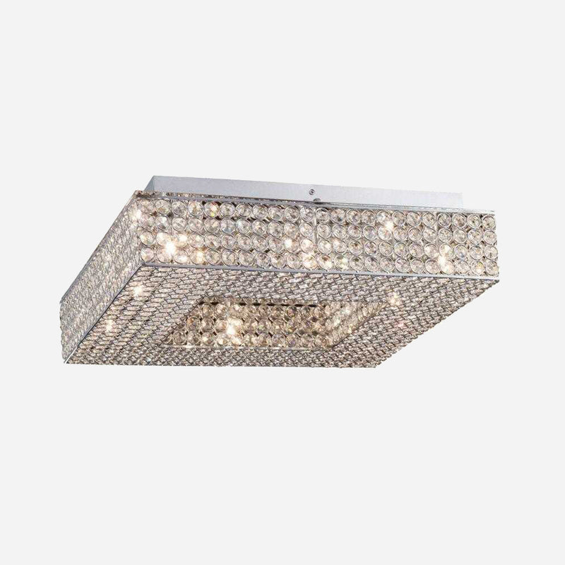Segreto 8 Light Crystal Ceiling Light      354.90  Diyas Lighting