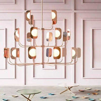 Leaf 24 Light Chandelier      3399.00  iLite Lighting