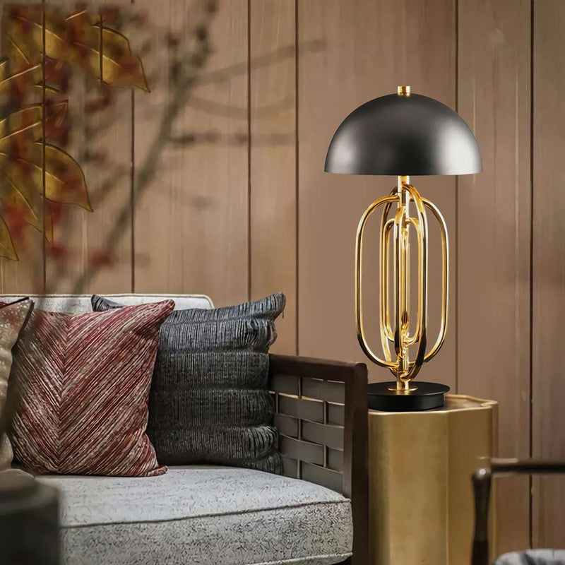 Ascot Small Table Lamp - Black