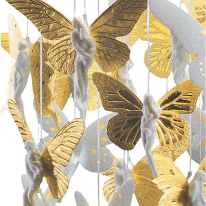 Niagara Porcelain 0.6m Chandelier - Golden      11899.00  iLite Lighting