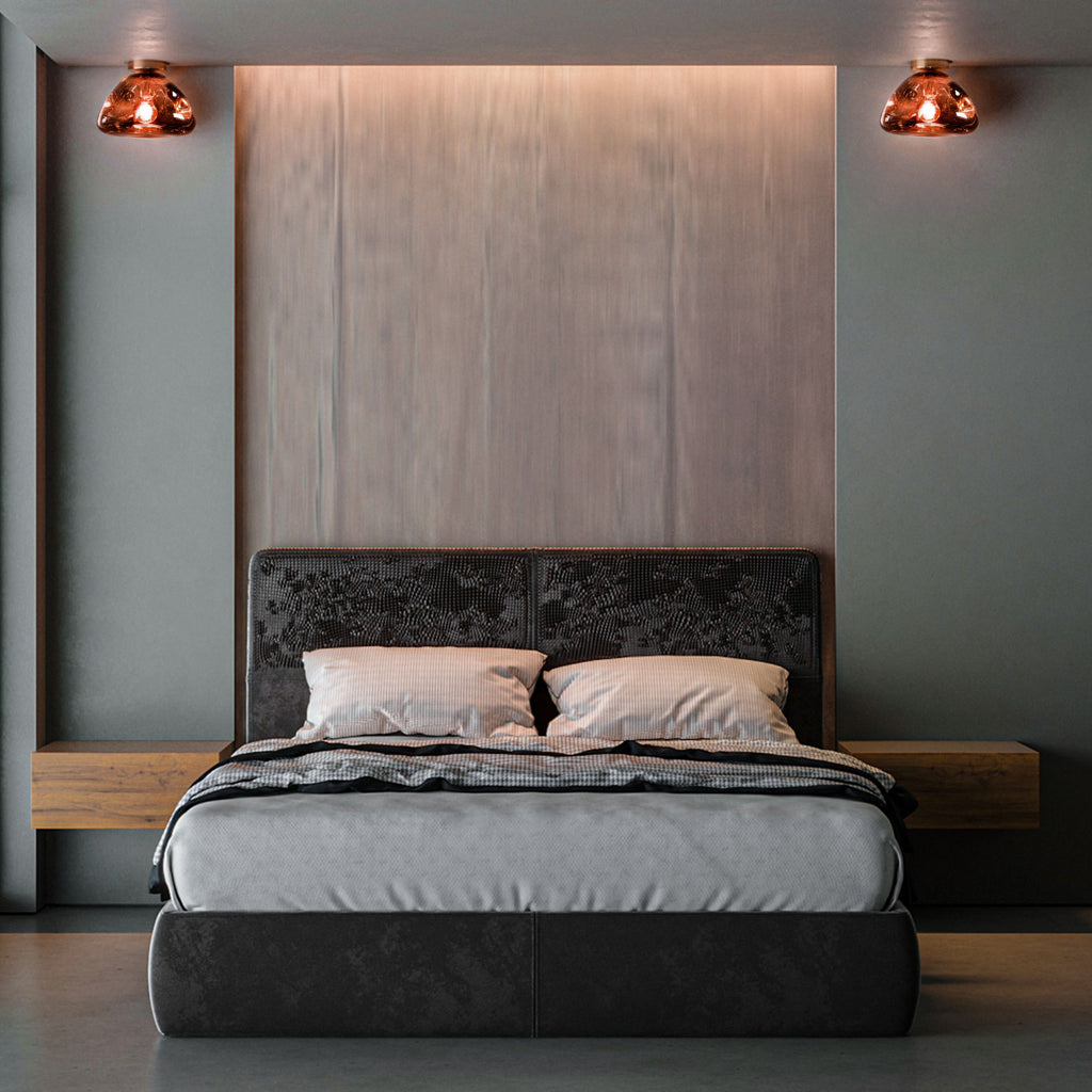 Lava Wall & Ceiling Light - Copper