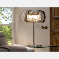 Sergio Crystal Table Lamp      419.90  iLite Lighting