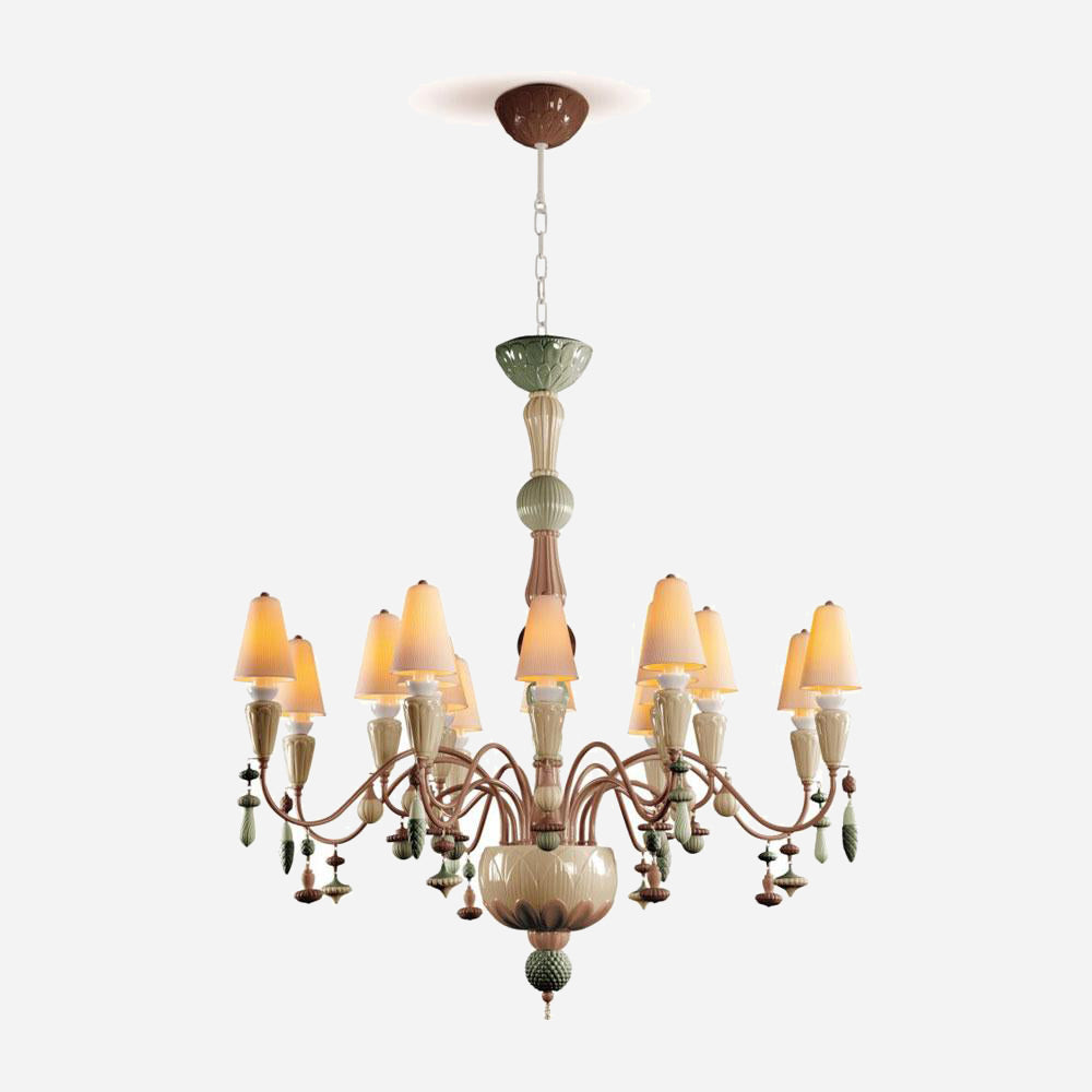 Ivy and Seed 16 Lights Chandelier - Spices | iLite Lighting