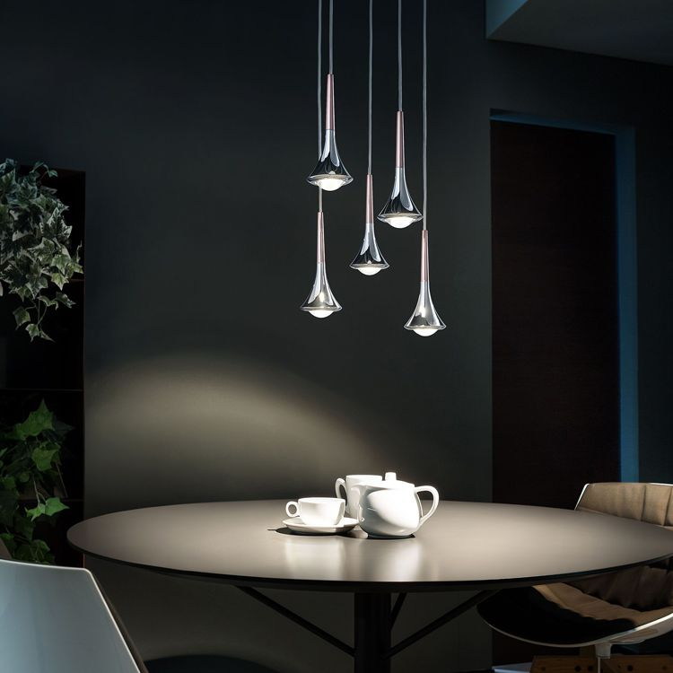 Rain LED Pendant Light - Coppery Bronze      169.90  Studio Italia Design