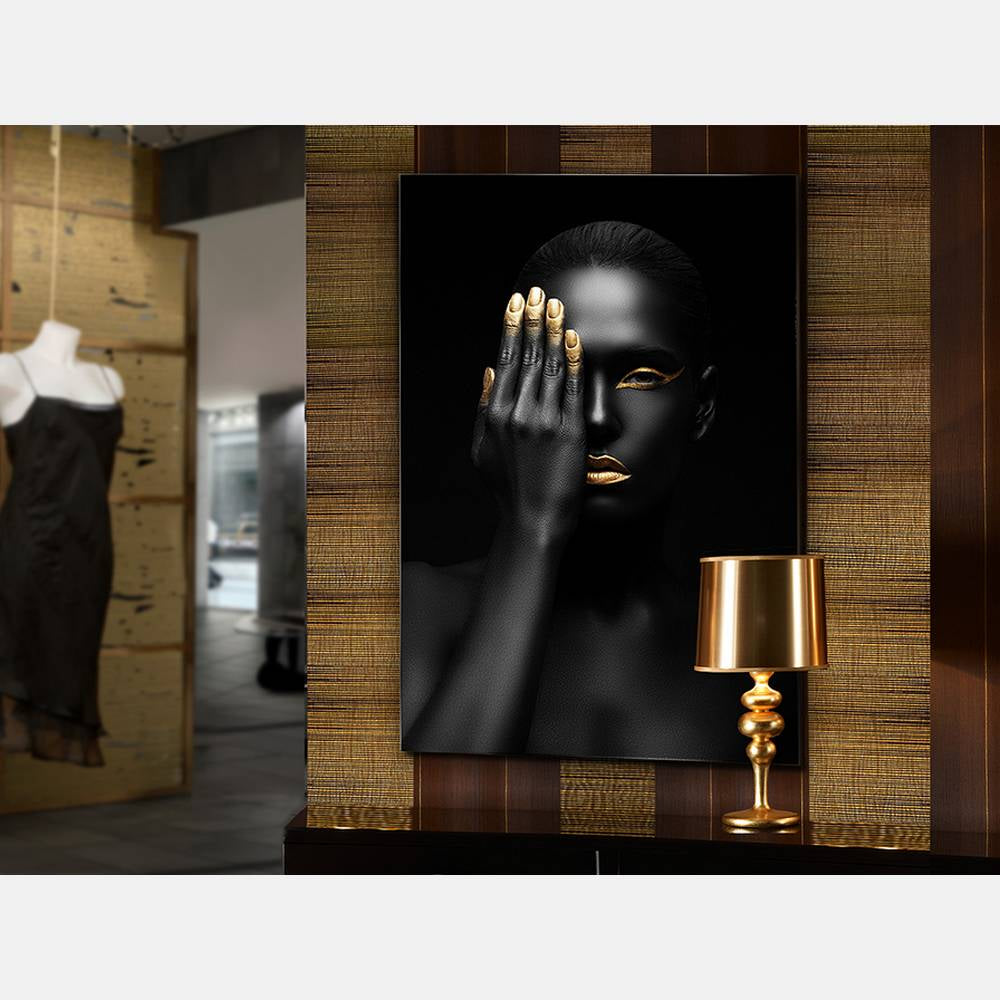 Golden Finger Glass Wall Art      249.90  iLite Lighting