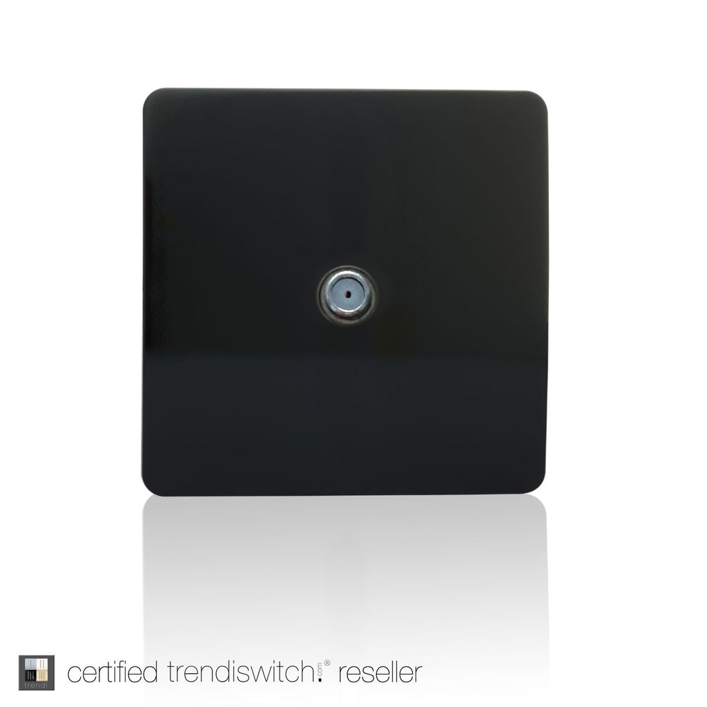 TV Satellite Outlet Black      7.95  Trendiswitch