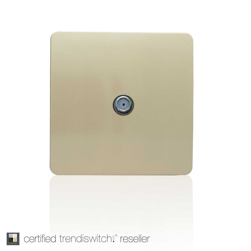 TV Satellite Outlet Gold      7.95  Trendiswitch