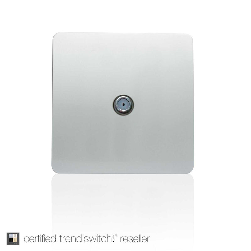 TV Satellite Outlet Silver | iLite Lighting
