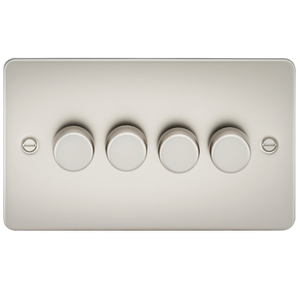 FLAT PLATE 4G 2 WAY 40-400W DIMMER - PEARL      44.90  iLite Lighting