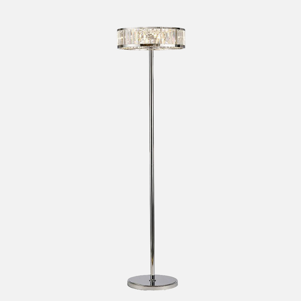 Verso Crystal Floor Lamp      444.90  iLite Lighting