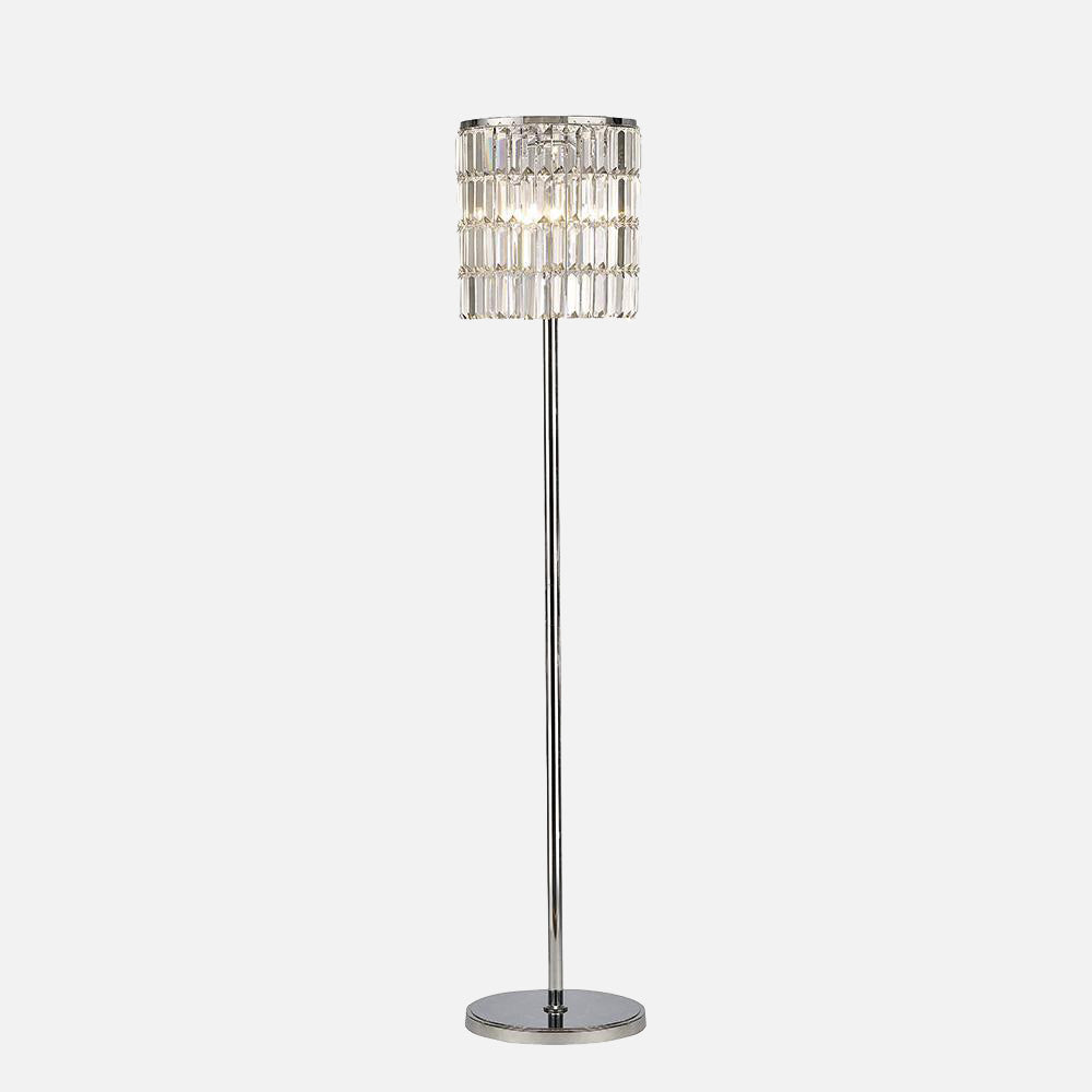 Verso Crystal Curtain Floor Lamp      354.90  iLite Lighting