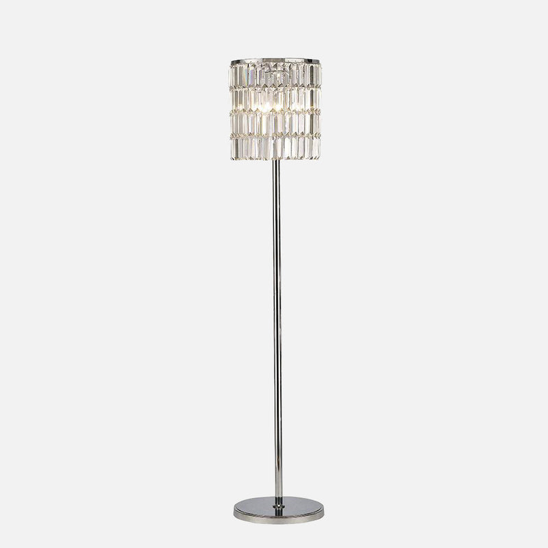 Verso Crystal Curtain Floor Lamp      354.90  Diyas Lighting