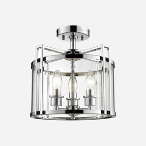 Lanterna 3 Light Lantern Ceiling Light - Chrome      264.90  iLite Lighting