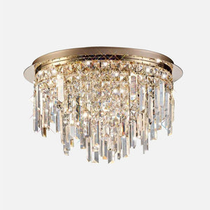 Volete Crystal Round Ceiling Light - Rose Gold      409.90  iLite Lighting