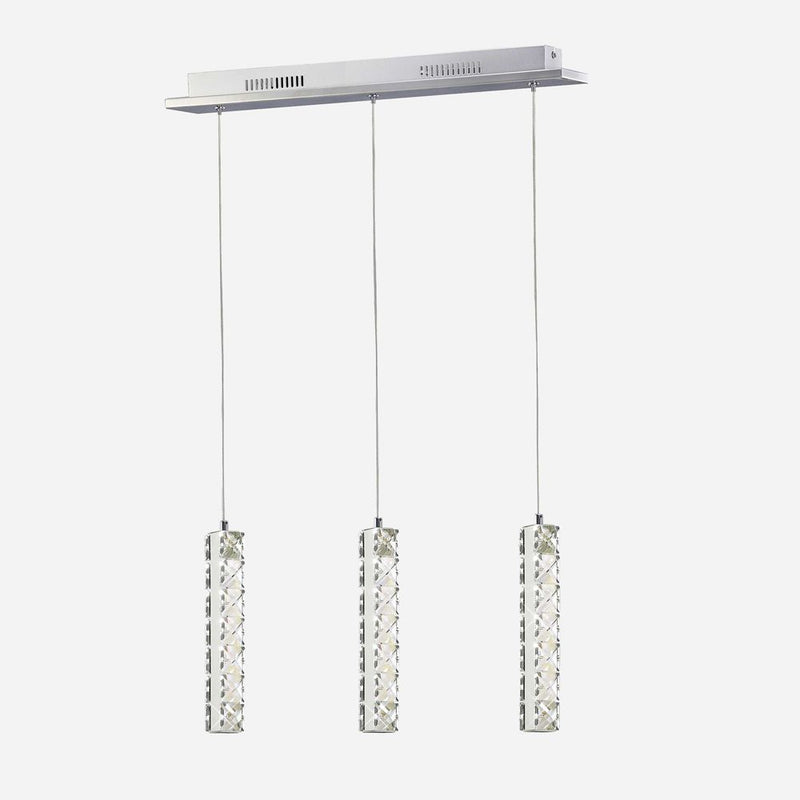 Resta LED 3 Light Crystal Pendant      269.90  Diyas Lighting
