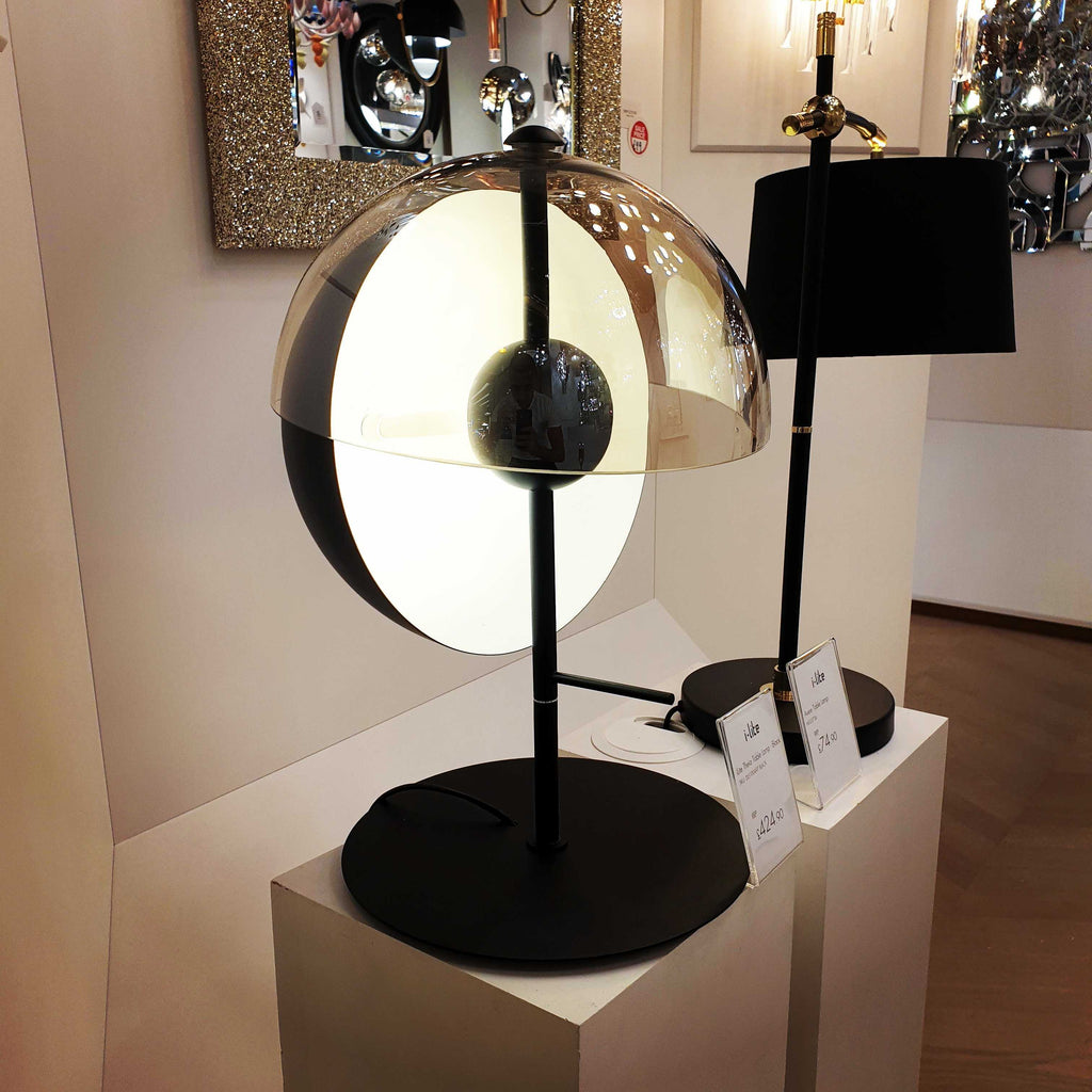 Theia Table Lamp - Black      424.90  iLite Lighting