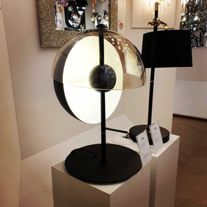 Lucia Table Lamp - Black | iLite Lighting