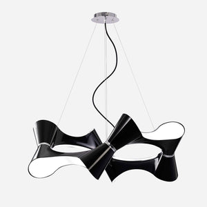 Venite 8 Light Suspension - Black      659.90  Mantra Lighting