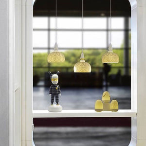 Ivy and Seed Pendant Light - Ocean      434.90  Lladro Lamps & Figurines