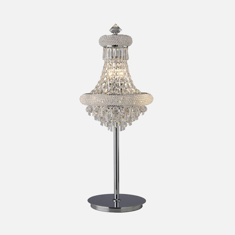 Sinistra 5 Light Crystal Table Lamp - Chrome      779.90  iLite Lighting