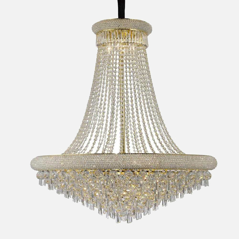 Sinistra 20 Light Crystal Suspension - Gold      5154.90  iLite Lighting