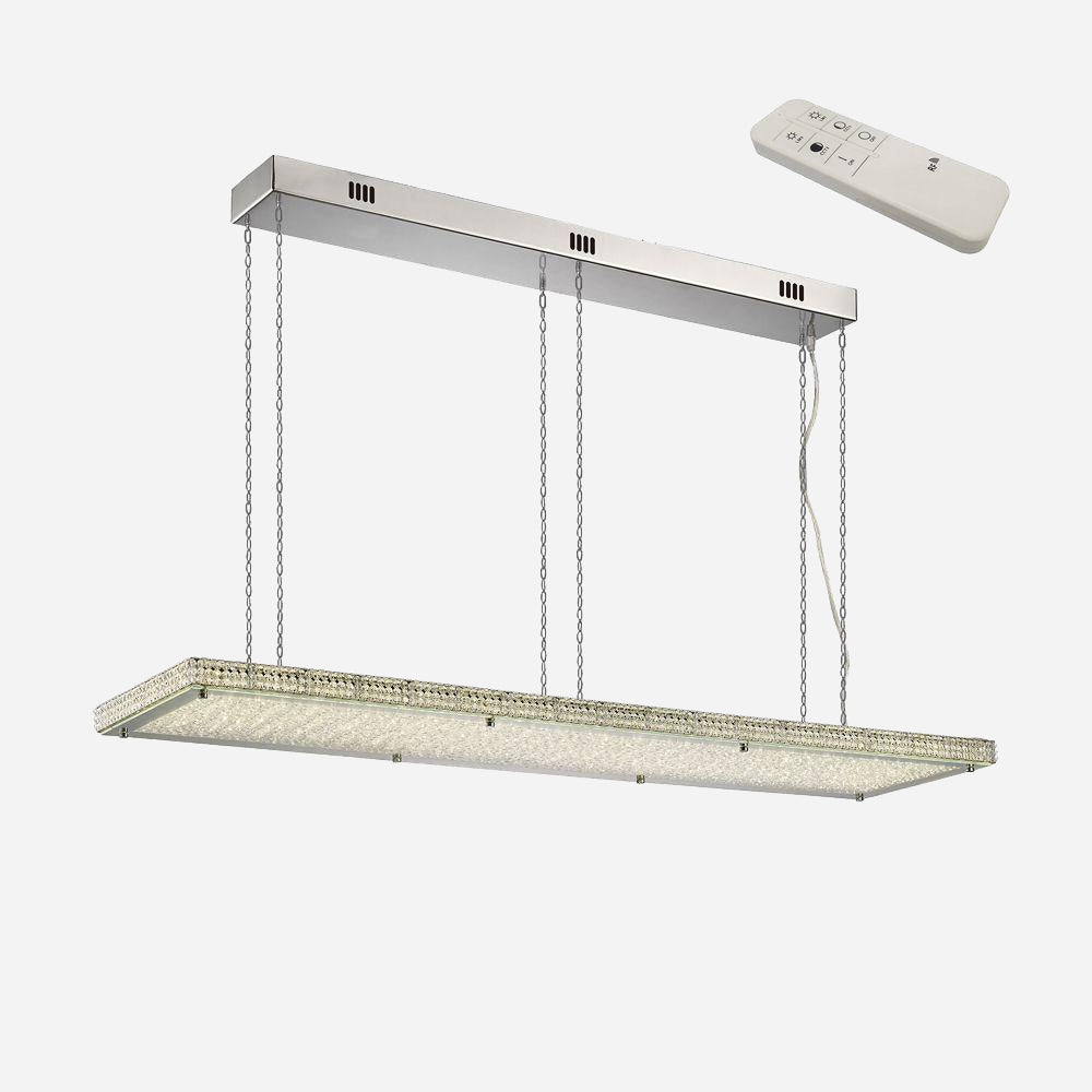 Capire Crystal LED Rectangular Suspension