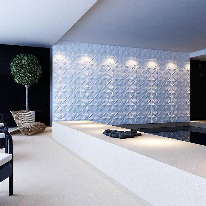 Remo 3D Wall Panels (1m²) | iLite Lighting