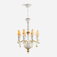 Ivy and Seed 8 Lights Chandelier - Golden Luster      3299.00  Lladro Lamps & Figurines