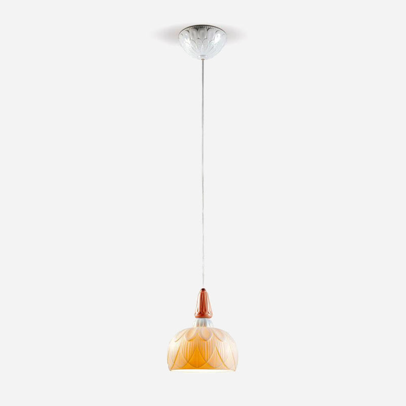 Ivy and Seed Pendant Light - Red Coral      434.90  Lladro Lamps & Figurines