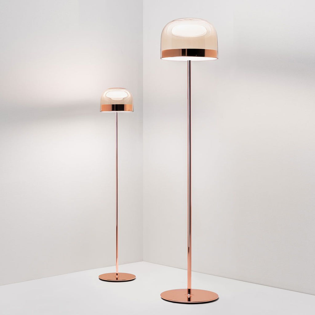 Equatore LED Floor Lamp - Copper | iLite Lighting