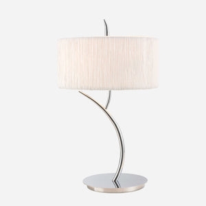 Caldo Large Table Lamp - Chrome      169.90  Mantra Lighting