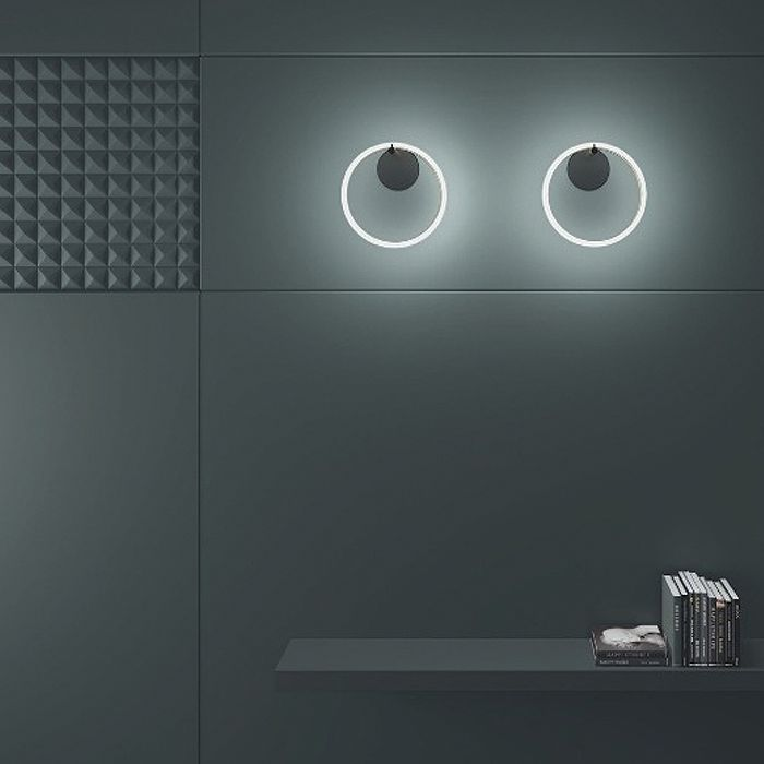 Ulaop 1 Ring Wall Light | iLite Lighting