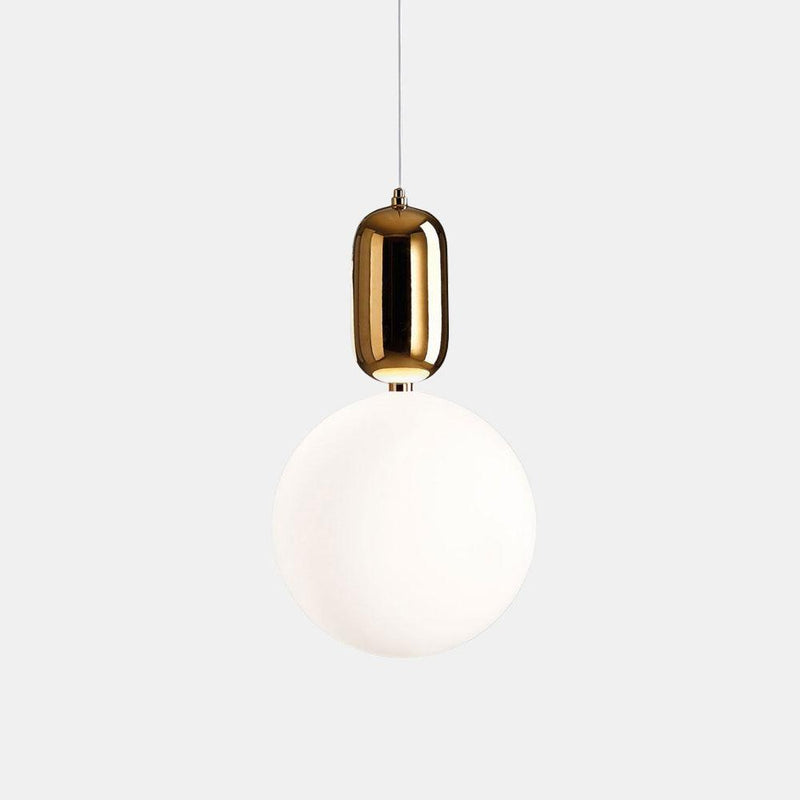 Aballs T Pendant Light - Gold      134.90  iLite Lighting
