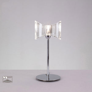 Ogni 1 Light Horizontal Table Lamp - Chrome      94.90  iLite Lighting