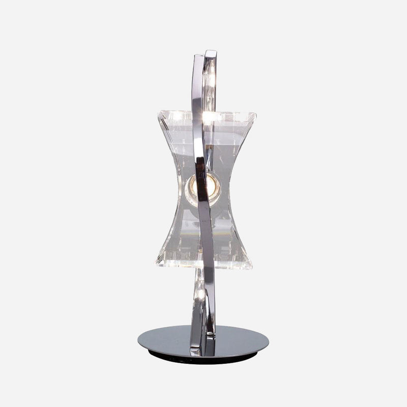 Ogni 1 Light Vertical Table Lamp - Chrome      134.90  Mantra Lighting