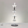 Ogni 2 Light Table Lamp - Chrome | iLite Lighting