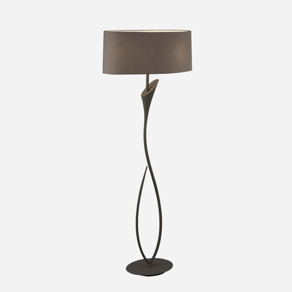 Gia 2 Light Floor Lamp - Ash Grey      354.90  iLite Lighting