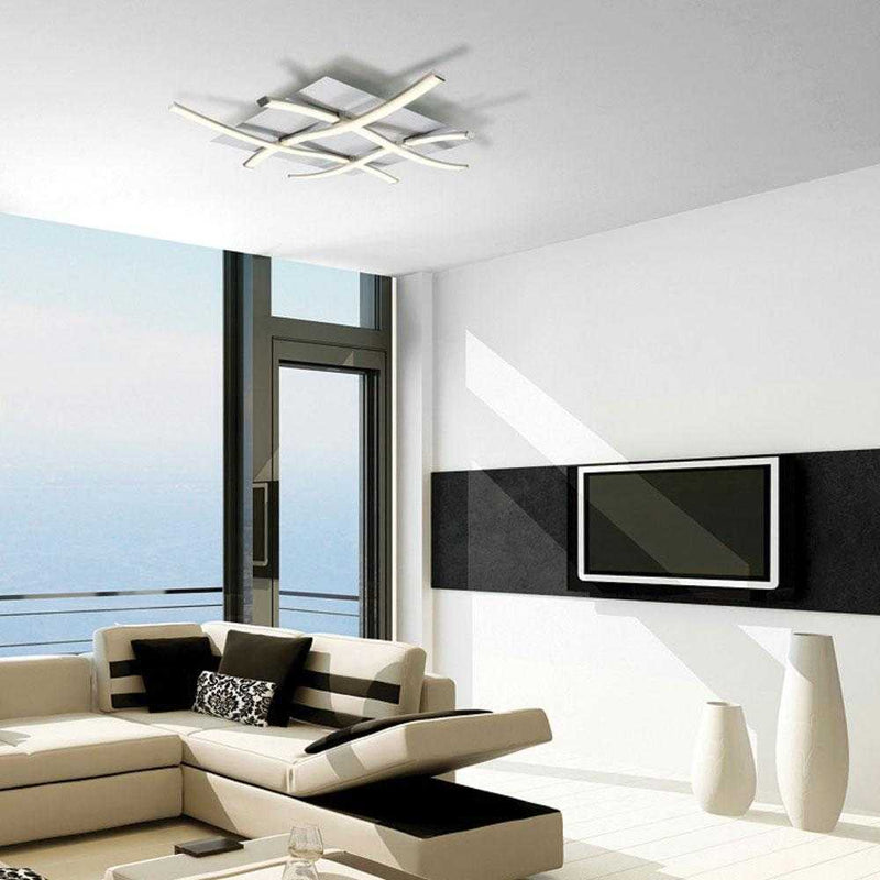 Bene LED Flush Ceiling Light - Black      369.90  Mantra Lighting