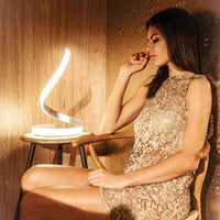 Bene LED Table Lamp - White      164.90  Mantra Lighting