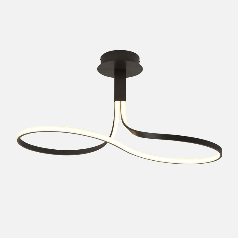 Bene LED Short Loop Ceiling Light - Black      384.90  Mantra Lighting