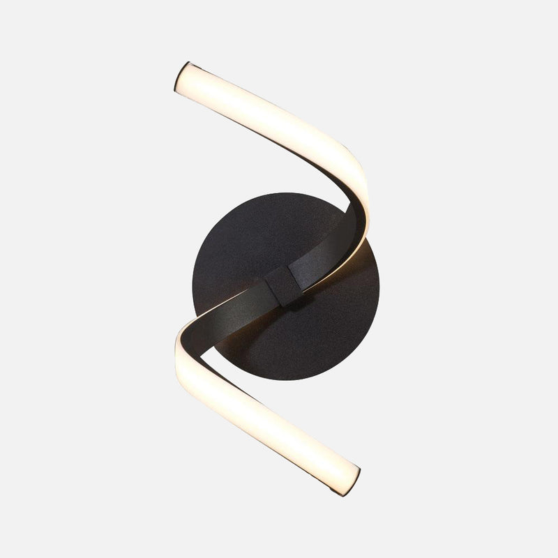 Bene LED Wall Light - Black | iLite Lighting