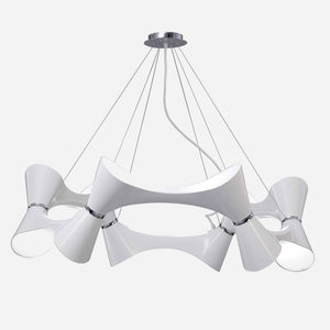 Venite 12 Light Suspension - White      974.90  iLite Lighting